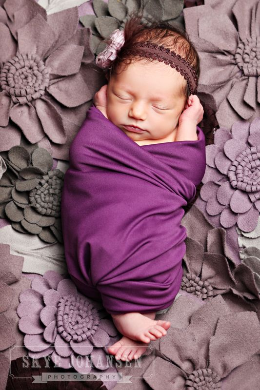 such a cute picture idea!: Born Photo, Little Girls, Blanket, Cute Baby, Baby Girls Pics, The Colors Purple, Purple Newborns, Girls Baby, Baby Photography