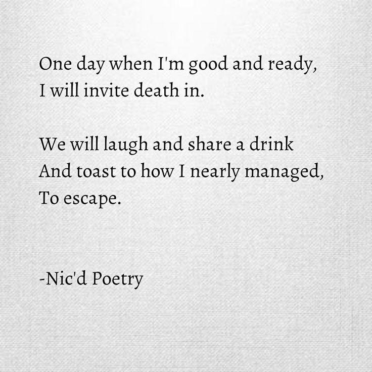 #poetry #poem #words #writing #writers #death #nicdpoetry