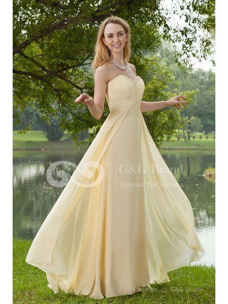 Morobe.fr offre maintenant grande vente sur ses robes de soirée. Cette robe formelle est disponible à moins de 100 €. Nous savons que de payer trop cher pour une robe et porter pour une fois est vraiment extravagant, si l'offre spéciale est lancée pour votre faveur. Vous pouvez choisir parmi plusieurs couleurs, matériaux et designs. http://www.morobe.fr/17253-romantique-ruches-jonquille-jaune-mousseline-polyester-tenue-de-soiree-longue-ggod100227.html
