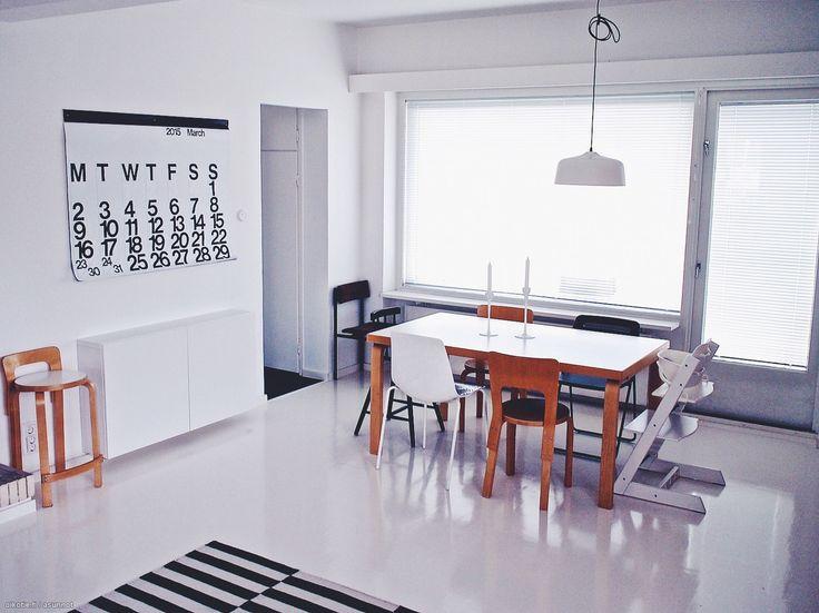 Myytävät asunnot, Huopalahdentie 15, Helsinki #oikotieasunnot #skandinaavinen #scandinavian