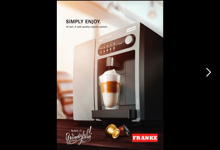 Read More about FRANKE COFFEESYSTEMS Product overview https://lnkd.in/g4tUCvb
