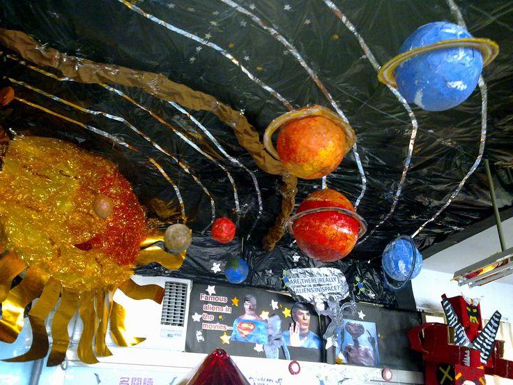 44 best images about vbs 2017 galactic starveyors on pinterest paper lanterns planetarium - Solar system decorations ...