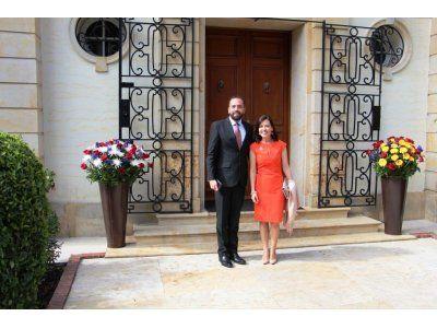 Hugo Cortazar et Marcela Barragan