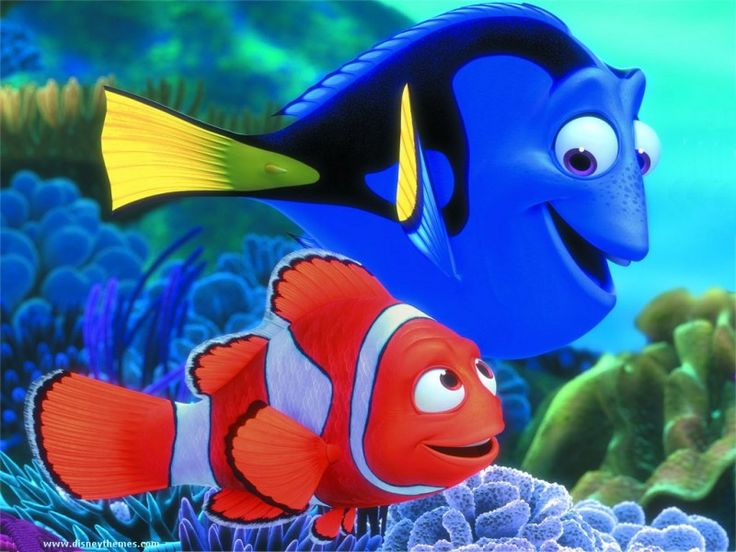 Disney Cartoon Characters | Disney Finding Nemo Fish Cartoon Character