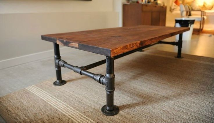 The most pinned DIY Iron Pipe Coffee Table in the world is now available as a kit from $150.00   This kit comes in four parts: the fittings, the height kit, the width kit and the length kit.   Select