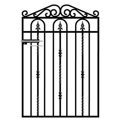 New Wrought Iron Gates For The Windsor Garden Gate Will Be Manufactured In  Early January.