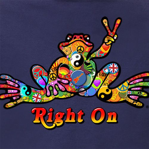 ☮ American Hippie Art Quotes ~ Peace  ☮ Peace Frog .. Right on