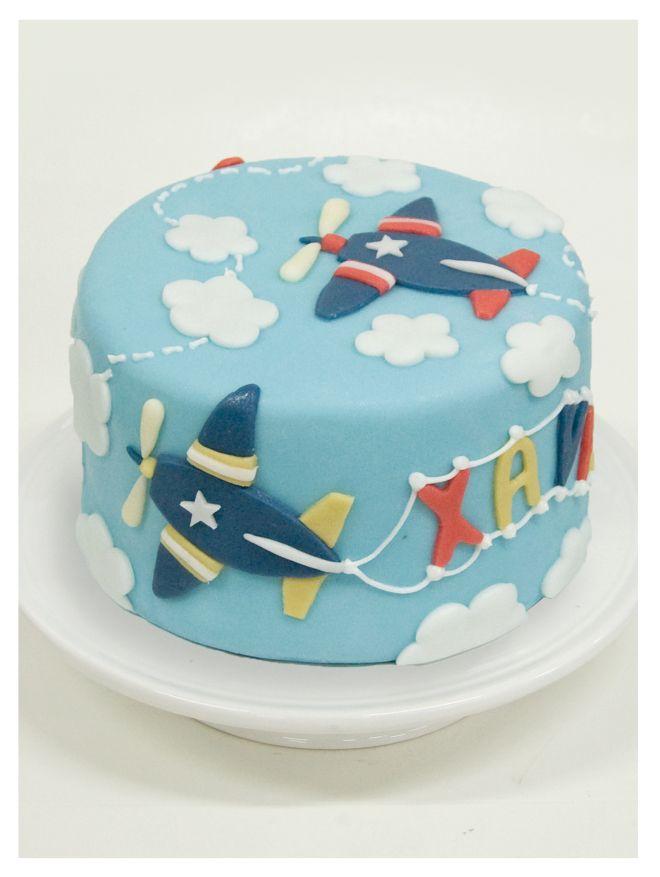 Red, Blue & Yellow Airplane Cake (Xavier)                                                                                                                                                      Más