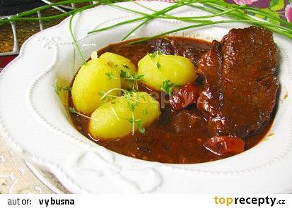 Hovězí daube recept - TopRecepty.cz