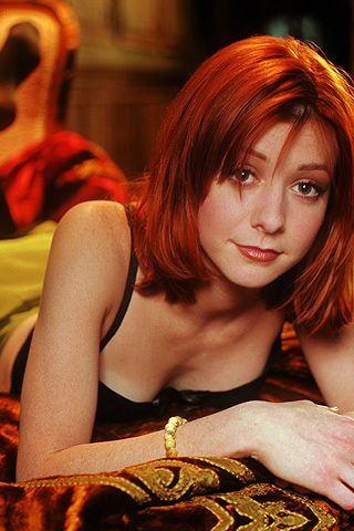 Alyson Hannigan, wallpapers, iphone, wallpaper, alyson, hannigan