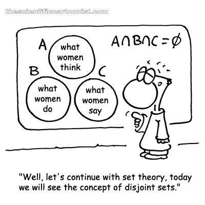 Teoría de conjuntos ... femeninos