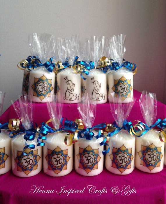 Indian Wedding Return Gift Ideas: Set Of 50 Candles, Made To Order, Indian Favors, Return