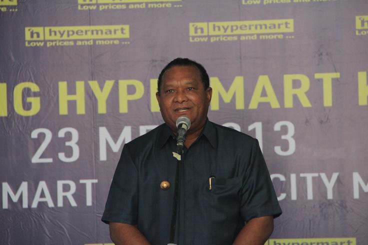 Opening Hypermart Maluku City Mall 23 Mei 2013