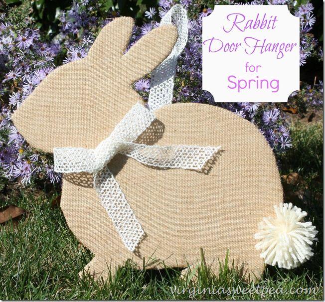 Rabbit Door Hanger and Best of DIY Link Party