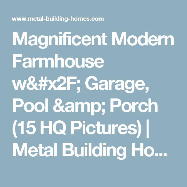 Magnificent Modern Farmhouse W/ Garage, Pool & Porch (15