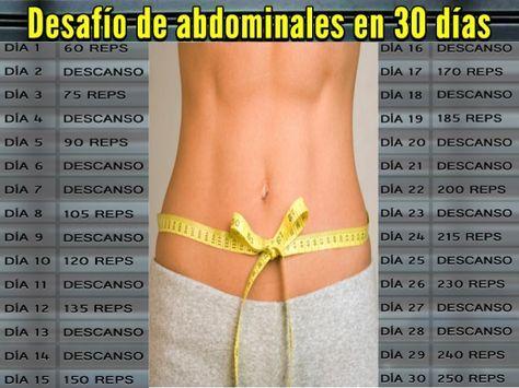 Desafío de abdominales en 30 días, únete al reto y sigue el paso a paso aquí... http://www.1001consejos.com/ejercicios-en-casa-reto-para-abdominales/