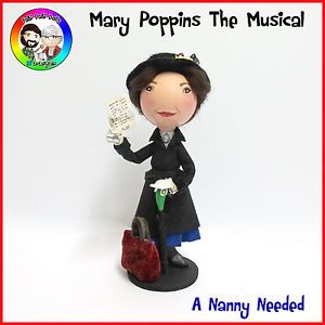 mary poppins the musical peg doll by fabi dabi dolls available now on ebay now