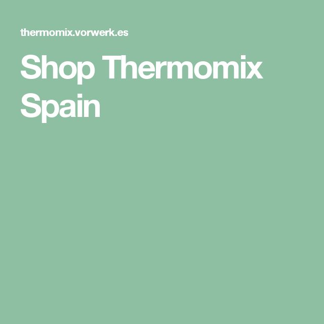 Shop Thermomix Spain
