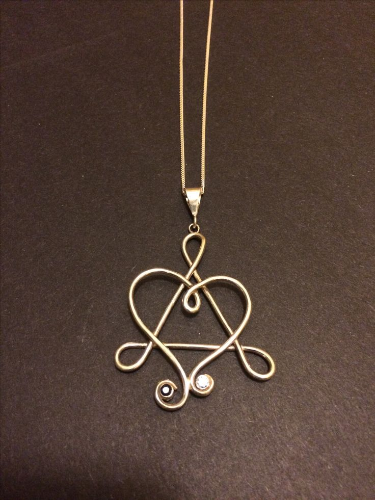 This is the adoption symbol. I added the birthstones of the mother and daughter.