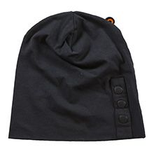 Cap Triple bucket -black