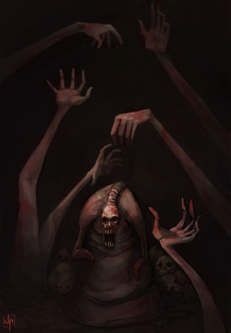 dead_hand_by_johnnycago-d3etgdu.jpg (745×1073)