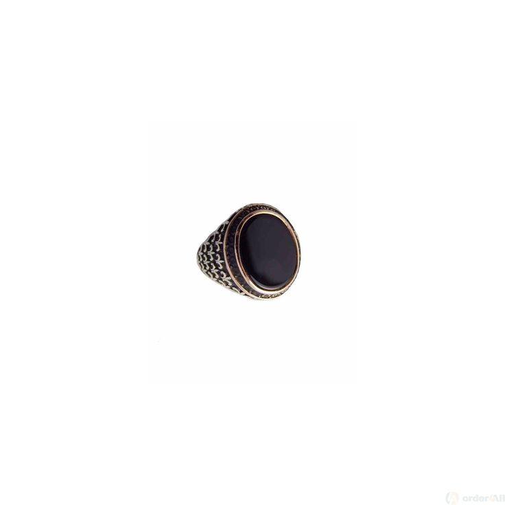 Δαχτυλίδι Retro με Oval πετρα