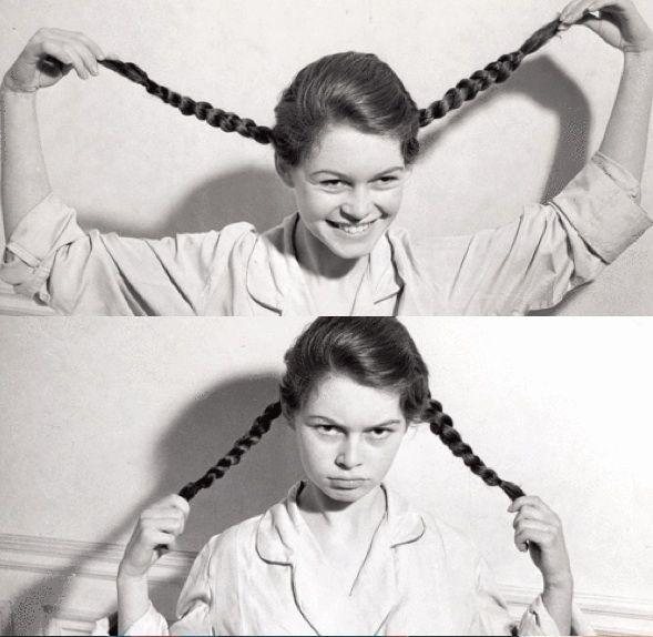 "Brigitte Bardot: ""I'm Pippeee!"" ""Now I'm angry Pippi >:("""