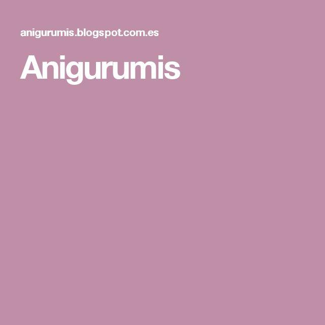 Anigurumis