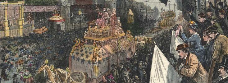 How to survive a killer Mardi Gras, circa 1889 by Ana Brazil