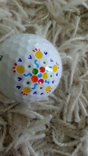 Golf ball art by EURA