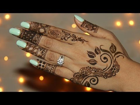 How To Make Henna Paste At Home, DIY, Easy Recipe For Henna - Mehendi For Hands - YouTube