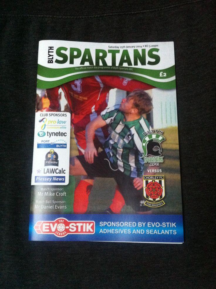 Blyth Spartans v Chorley