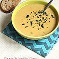 Cette soupe je l'aime beaucoup, je la fais régulièrement. Elle est douce, savoureuse, et le mélange des saveurs nous...