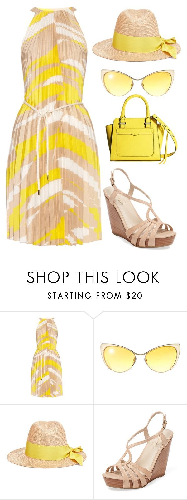 """""""pleats to meet you"""" by catie-rose-ryder ❤ liked on Polyvore featuring MaxMara, Tom Ford, Federica Moretti, Seychelles, Rebecca Minkoff and beachtotes"""
