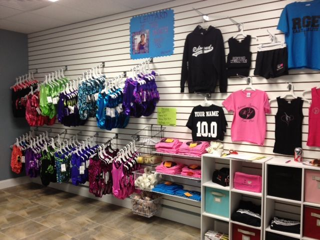 dance and gym shop