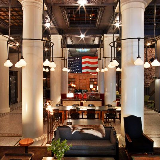 1000 ideas about ace hotel on pinterest warehouse for Best boutique hotels new york