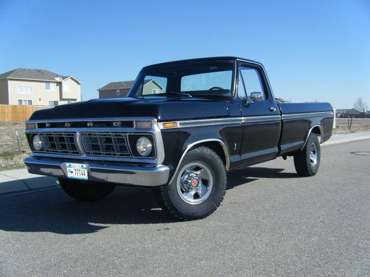 1974 black f-100 ford ranger truck- my dream car! i need, i want, i will own!! someday...
