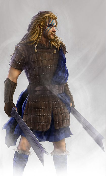 My inner Tolkien purist is going a bit squirmy, but who can really argue with Fili in a kilt?   I did not write the caption above... Bu I have to agree word for word. ;)
