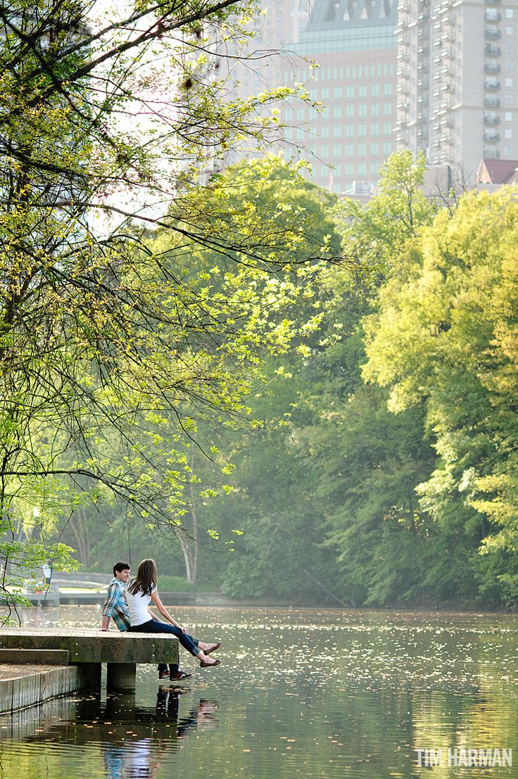 Piedmont Park is the perfect place for an outdoor date on a sunny day.