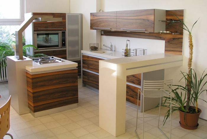 small square kitchen design modern kitchens pinterest