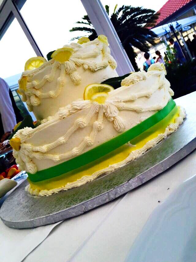 lemon green cake