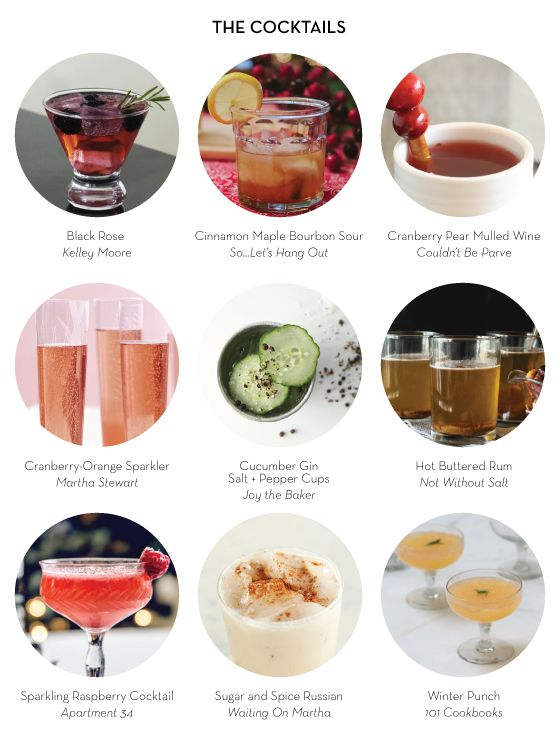 MY (IMAGINARY) NEW YEAR'S EVE 2013 – The Cocktails