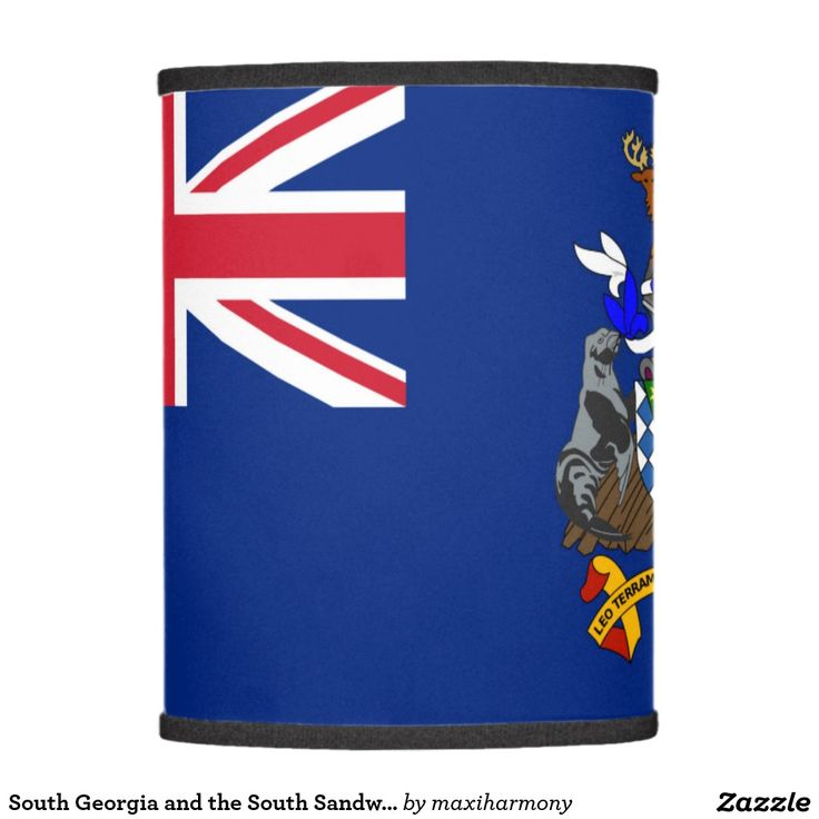 South Georgia and the South Sandwich Islands flag Lamp Shade
