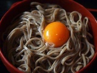 島根県 出雲そば 羽根屋  五色割子そば(卵)