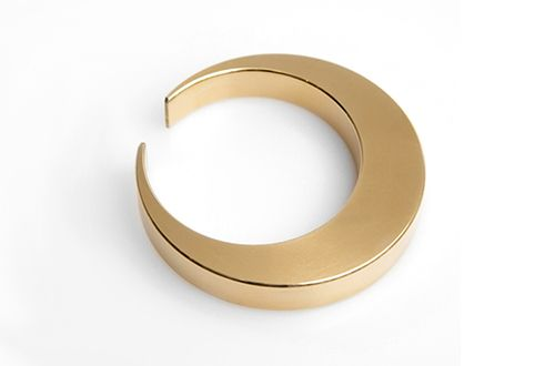 Japanese product design: Created by Japanese designer, Oji Masanori, each solid brass bottle opener is as unique as it is beautiful.