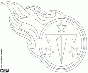 nfl logos coloring pages printable games