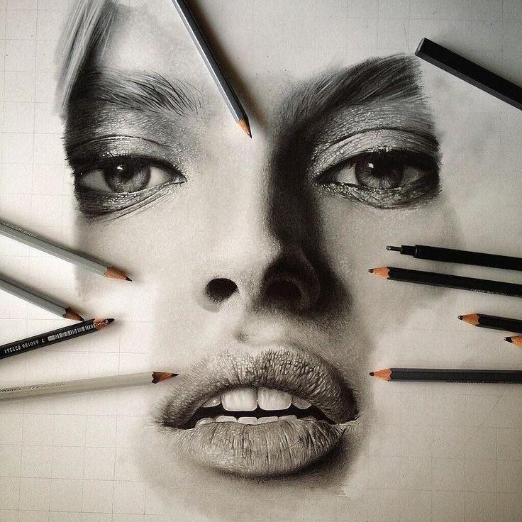 Картинки люди и карандаши