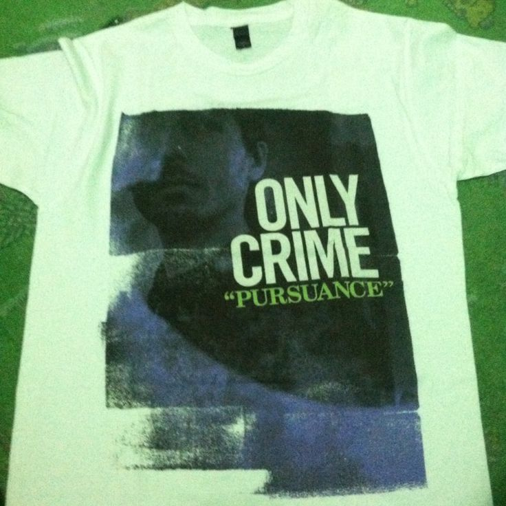Only Crime t-shirt