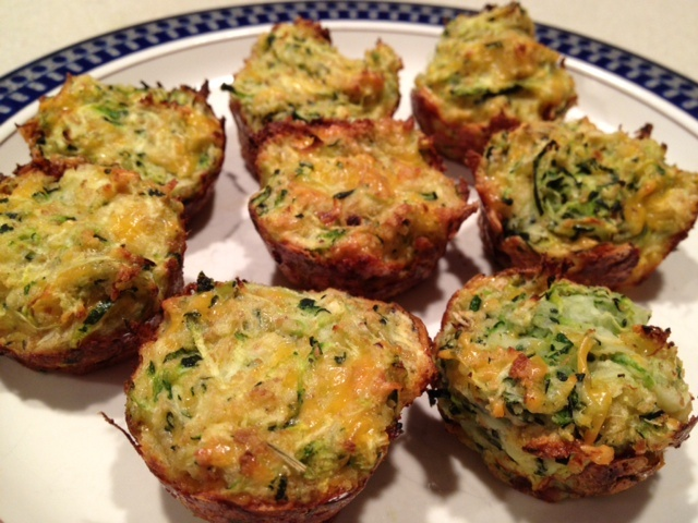 The Lazy Girl Fitness: Zucchini Tots