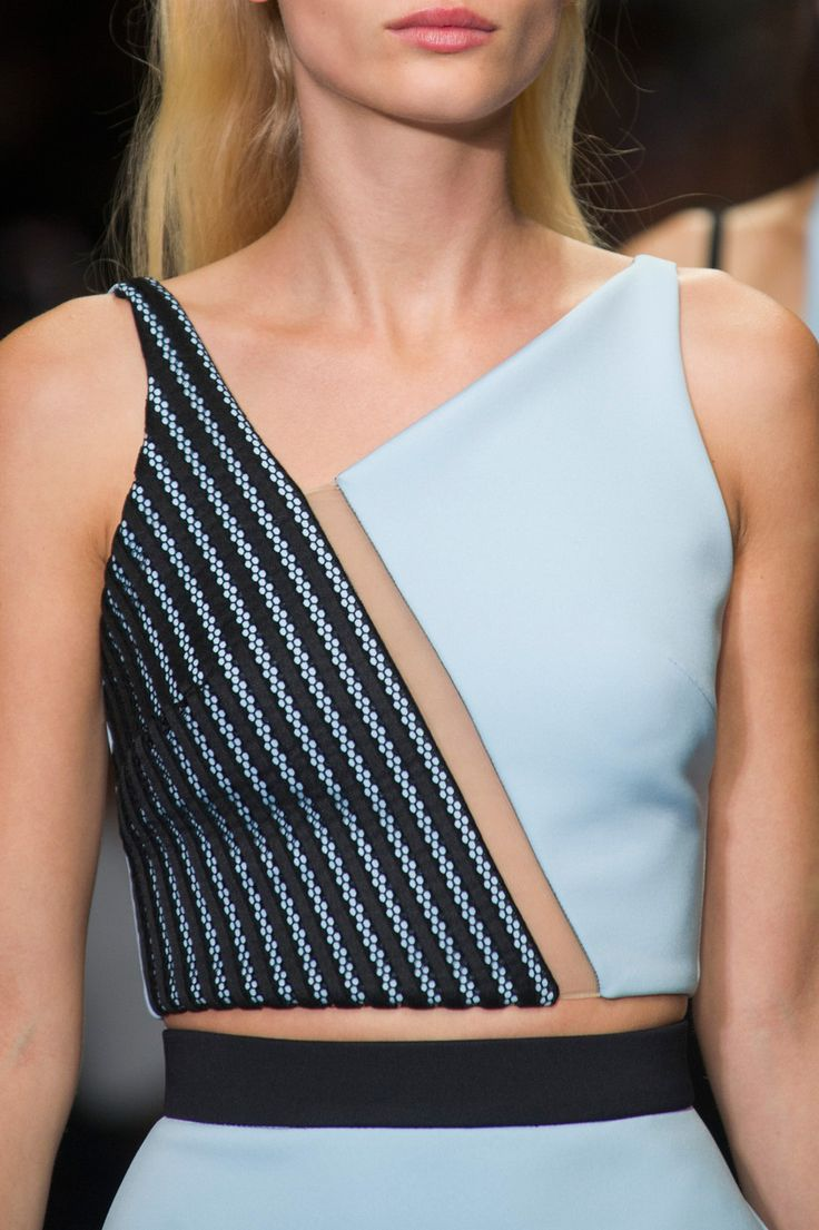 David Koma at London Spring 2015 (Details)